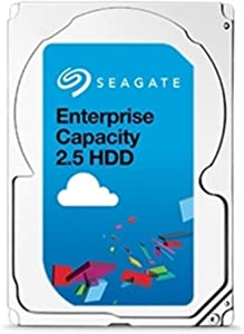 Seagate 2TB Enterprise Capacity 2.5 Internal Hard Disk Drive SATA 6.0Gb/s 7200 RPM 128MB Cache Model (ST2000NX0403)