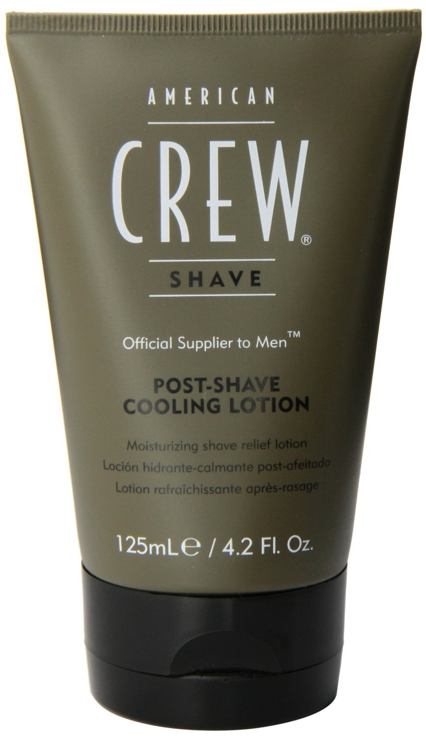 Post Shave Cooling Lotion Men After Shave by American Crew, 4.2 Ounce