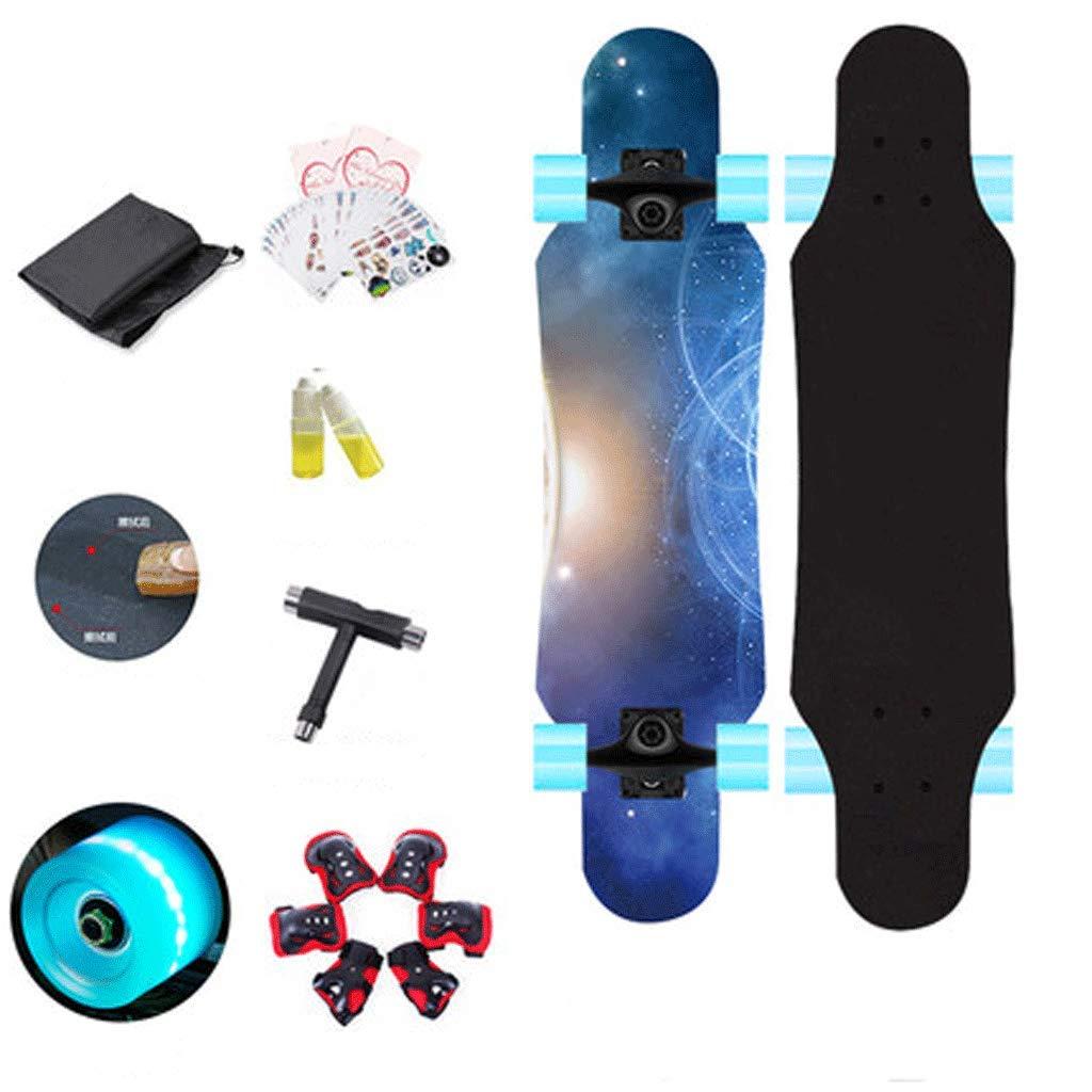 人気ブランド ロングボードフラッシュホイール子供初心者4輪スケートボードティーン女の子の男の子スケートボード B07KZQZZXP Ray) (色 : Ray) B07KZQZZXP Ray Ray, 輪之内町:9fd52661 --- a0267596.xsph.ru