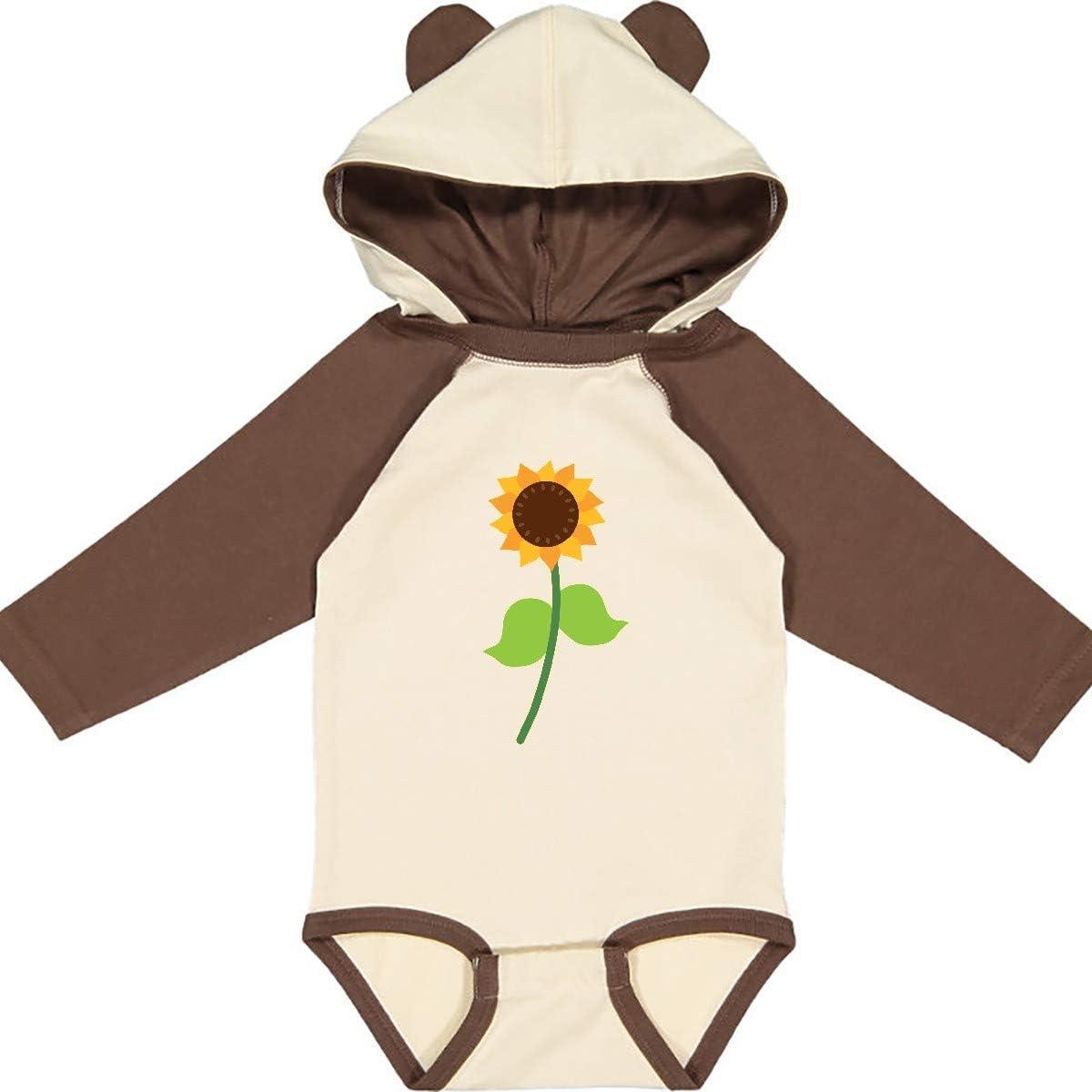 inktastic Sunflower Gift Summer Floral Long Sleeve Creeper