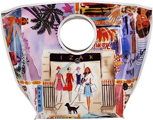 "16"" Shopping City Large Plastic Tote Bag Pavilion Gift Company 664843062184"