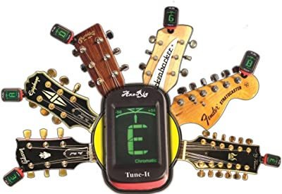 AxeRig Clip-On Chromatic Guitar Tuner for Acoustic
