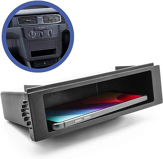 Adapter Universe Auto Kfz Pkw Radioblende Universal 1 Din Ablagefach Radioschacht Blindschacht Elektronik