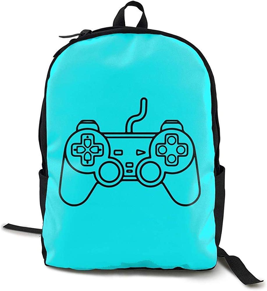 Playstation Controller Mochila de Estilo Deportivo de Moda para Hombre y Mujer para Adultos: Amazon.es: Deportes y aire libre