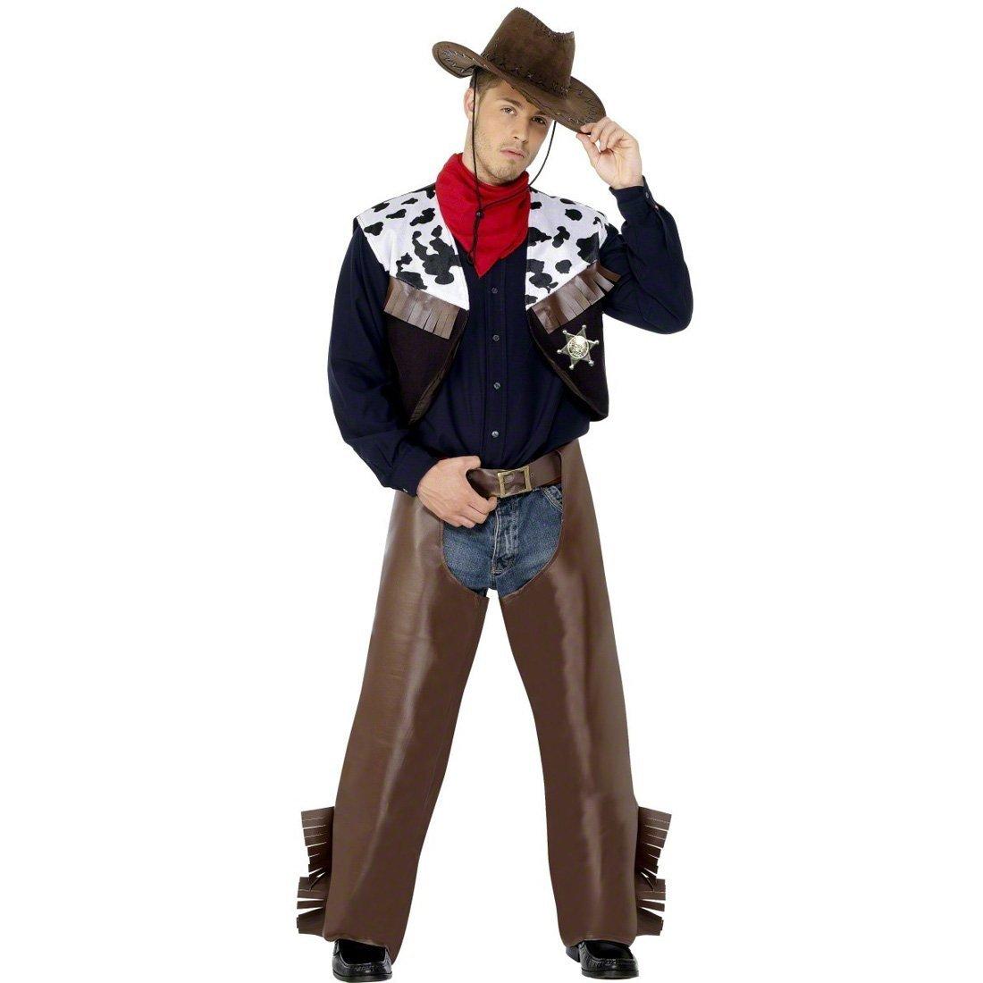 NET TOYS Traje de Vaquero de Rodeo Disfraz Oeste Cowboy Western ...