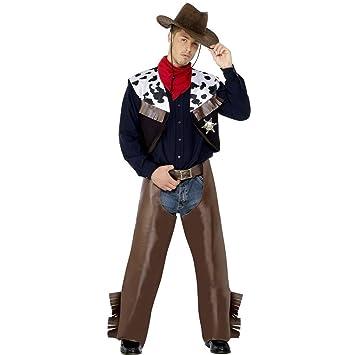 Traje de vaquero de rodeo disfraz oeste cowboy western  Amazon.es ... 539dff15dc1