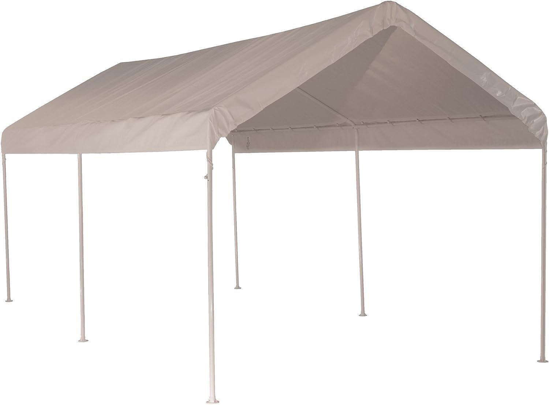 Amazon Com Shelterlogic 25757 Maxap 10 X 20 Ft 6 Legs White Canopies Outdoor Canopies Garden Outdoor
