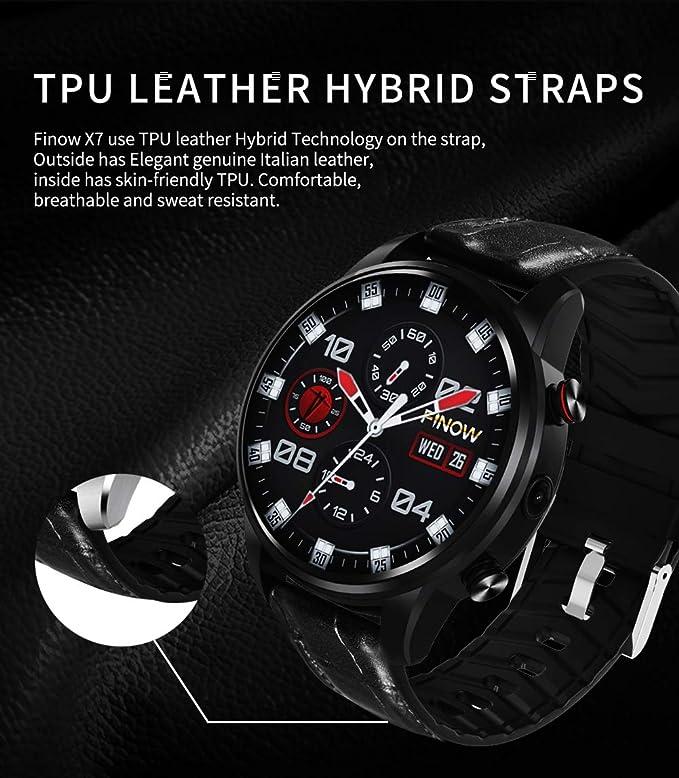 ELYSYSRL Smartwatch Impermeable Monitores de Actividad Podómetros ...