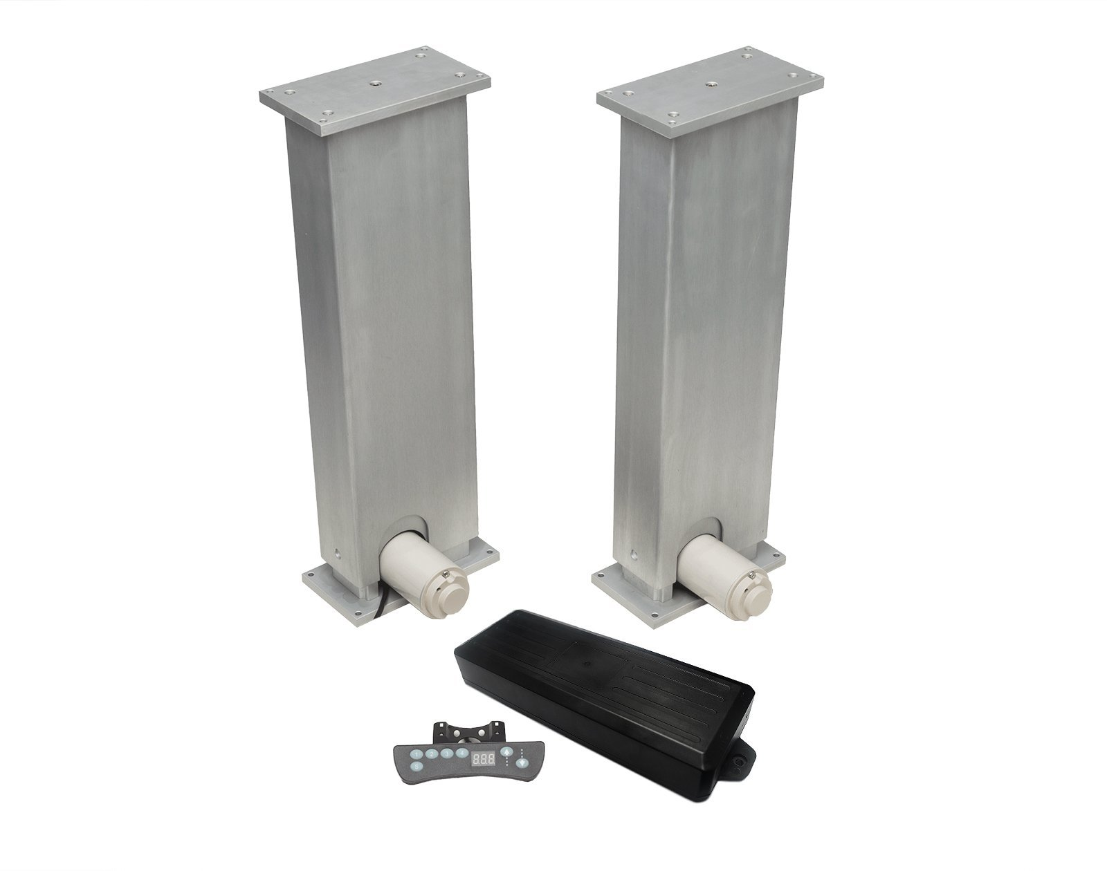 Progressive Automations Lifting Column Set - Dual - Stroke Size 32'' - Force 880 lbs - Speed 0.50''/sec - Wired Remote
