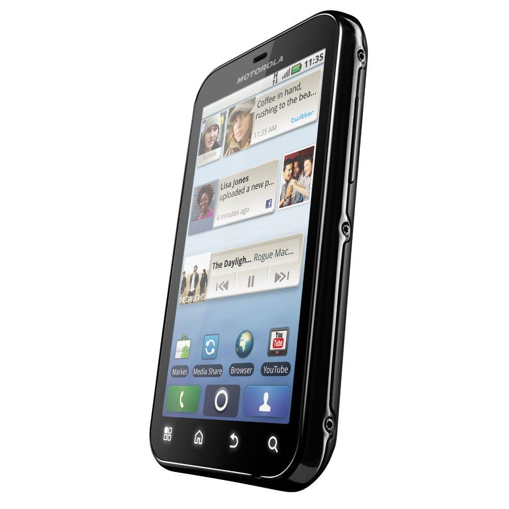Motorola MB525 Smartphone Sim Free Android Negro [importado de Reino Unido]: Amazon.es: Electrónica
