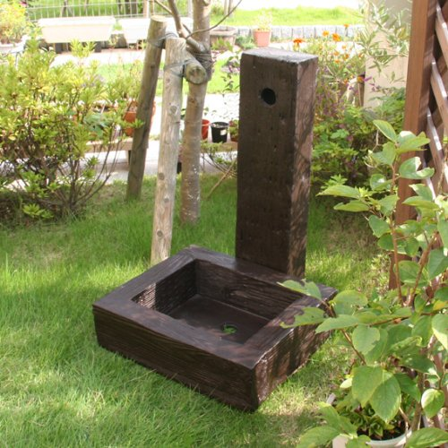 FRP 枕木調 水栓 ユニッセット B0091C6DG8 12980