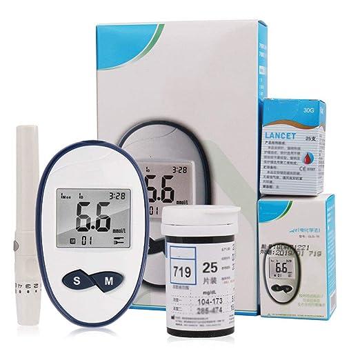 pruebas de glucosa en sangre y control de la diabetes