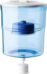 Aquaport Water Filter Bottle, Clear/Blue, AQP-FBOT4