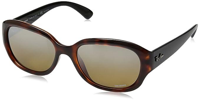 82ae25953dbd Ray-Ban Women's 4282CH Sunglasses, Negro, 55: Amazon.co.uk: Clothing