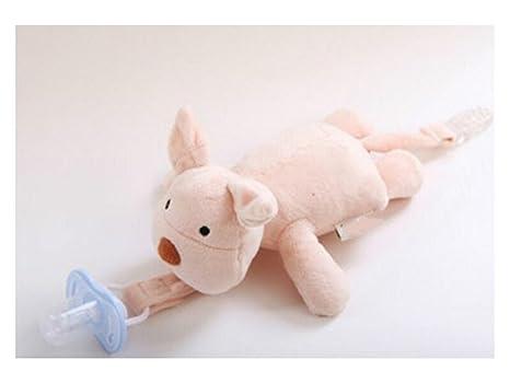 JxucTo - Chupete de dentición para bebé con clip para ...