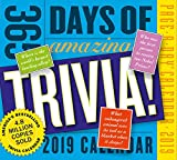 365 Days of Amazing Trivia! Page-A-Day Desk Calendar 2019 [6'' x 6'' Inches]