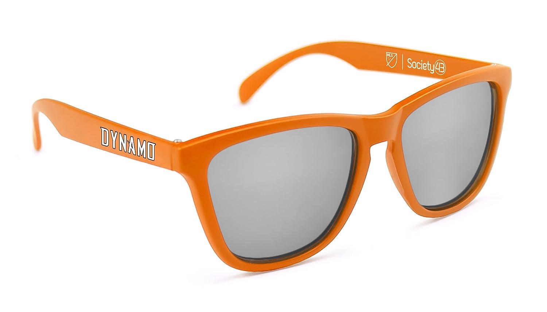 MLS Houston Dynamo Sunglasses One Size HOU-2 Orange//Blue