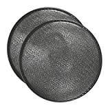 2 PACK Air Filter Factory 10-1/2 X 3-1/4 RISE Range Hood Aluminum Grease Dome Filters AFF34-3D