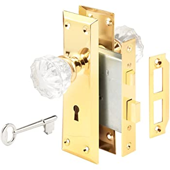 Defender Security E 2311 Mortise Keyed Lock Set With Glass