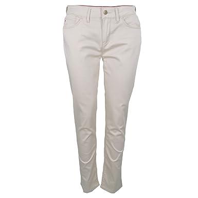 01c175affaf76 Tommy Hilfiger Pantalon 7 8 Silvana Beige pour Femme  Amazon.fr  Vêtements  et accessoires