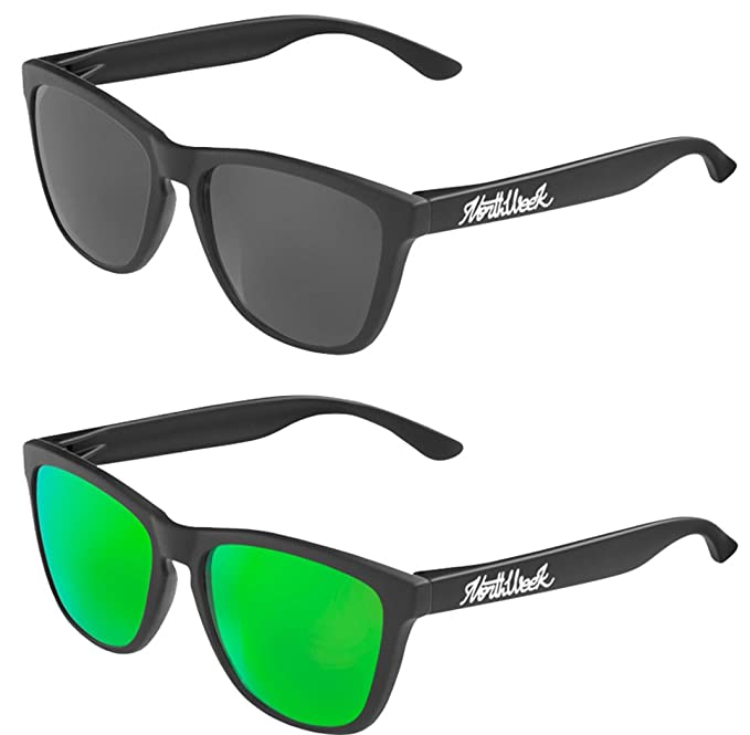 Pack Gafas de sol Northweek mate/black lente negra y lente verde polarizada - UNISEX