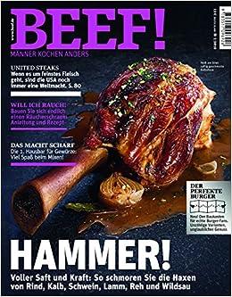 Beef Heft 012018 Für Männer Mit Geschmack Haxen Richtig