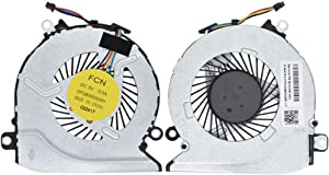 BAY Direct CPU Cooling Fan for HP Pavilion 15-AB 15-AB000 15-AB100 15-AB273CA 15T-AB200 Series, Compatible Part Number: 806747-001 812109-01