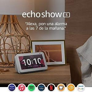 Echo Show 5: mantén el contacto con la ayuda de Alexa, blanco