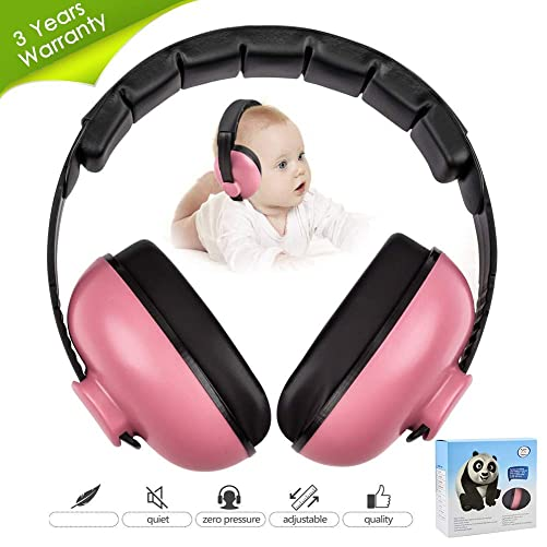 Baby Ear Protection Noise Cancelling Headphones for Kids Noise Reduction Hearing Protection Earmuffs for 0-3 Years Babies