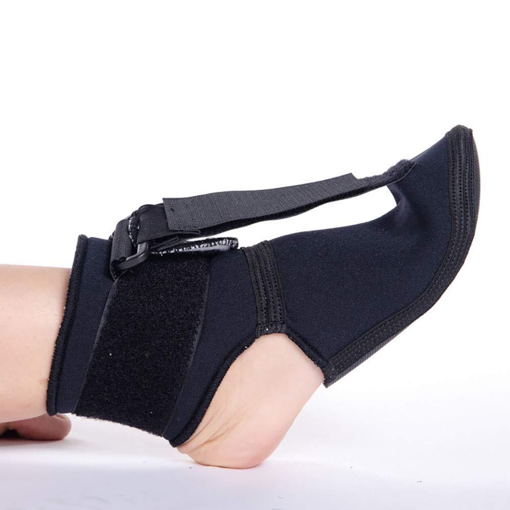 Plantar Fasciitis Night Splint Foot orthosis, Adjustable Back Splint Support Sleep, Recovery, tendonitis, Arthritis, sprained/strained 1 Pair (M) by LQO
