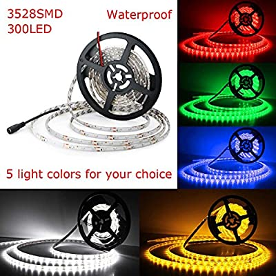 Your Supermart DC 5M 3528SMD 300LED Strip Light Waterproof Night Lamp for Christmas