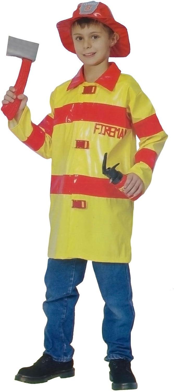 Islander Fashions Chicos Bombero Disfraz Disfraz Infantil Bombero ...