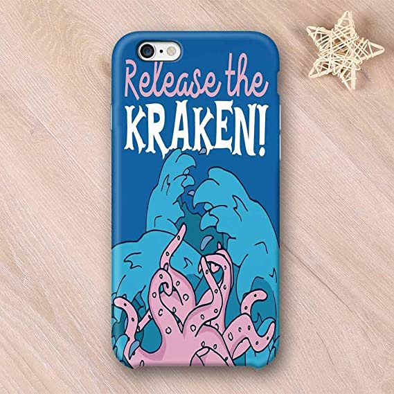 Amazon.com: Kraken Decor Custom Compatible with iPhone Case ...