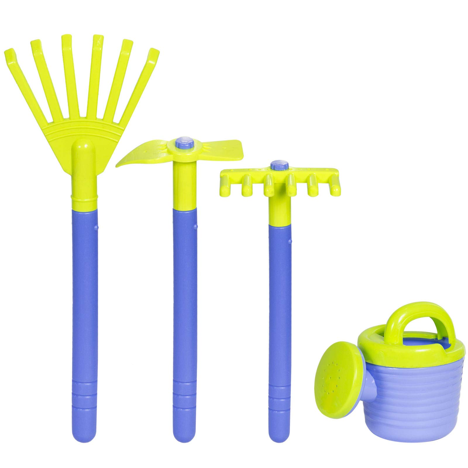 Alek...Shop Learning Children Gardening Tools Kids Toy Play Set with Garden Wagon and Enjoy Fun Dig The Sand Beach Happiness Your Baby Family Holiday by Alek...Shop (Image #6)