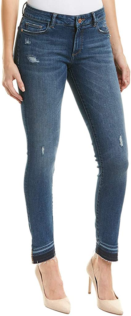 DL1961 Womens Florence Mid Rise 30 Skinny Jeans