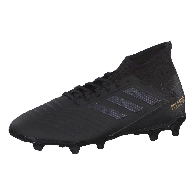 Noir (Core noir Core noir or Met. Core noir Core noir or Met.) adidas Prougeator 19.3 FG, Chaussures de Football Homme 44 2 3 EU
