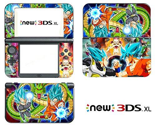 Vanknight New Nintendo 3DS XL 2015 Skin Set Decal Sticker Vinyl (Decal 3ds Nintendo Xl)