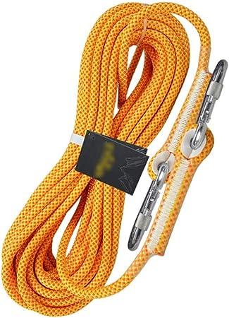 Cuerda de escalada en roca 10.5MM / 12MM doble cuerda cuesta ...
