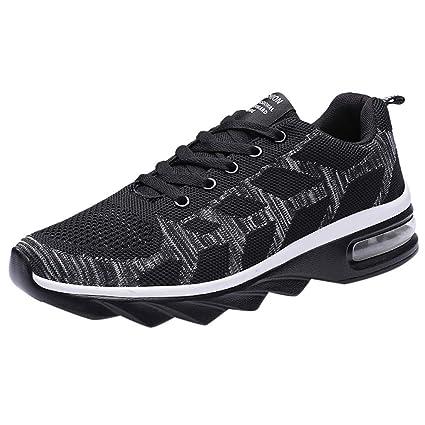 EUZeo Scarpe da corsa da uomo, casual, alla moda, scarpe da
