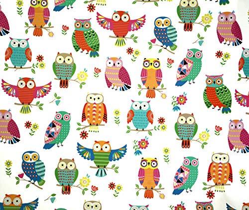 Owlie Gift Wrap Paper Flat Sheet 24