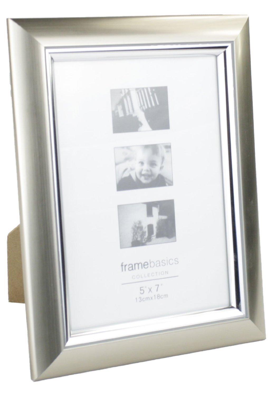 Amazon.de: Bilderrahmen Silber Modern für 18 x 13 Fotos