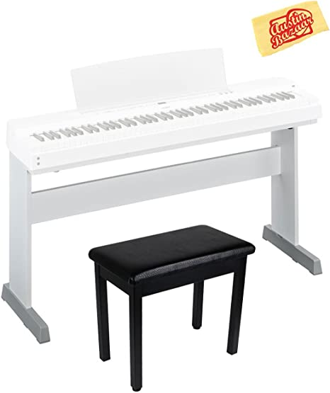 Yamaha L-255WH - Soporte para piano digital P-255WH, color ...