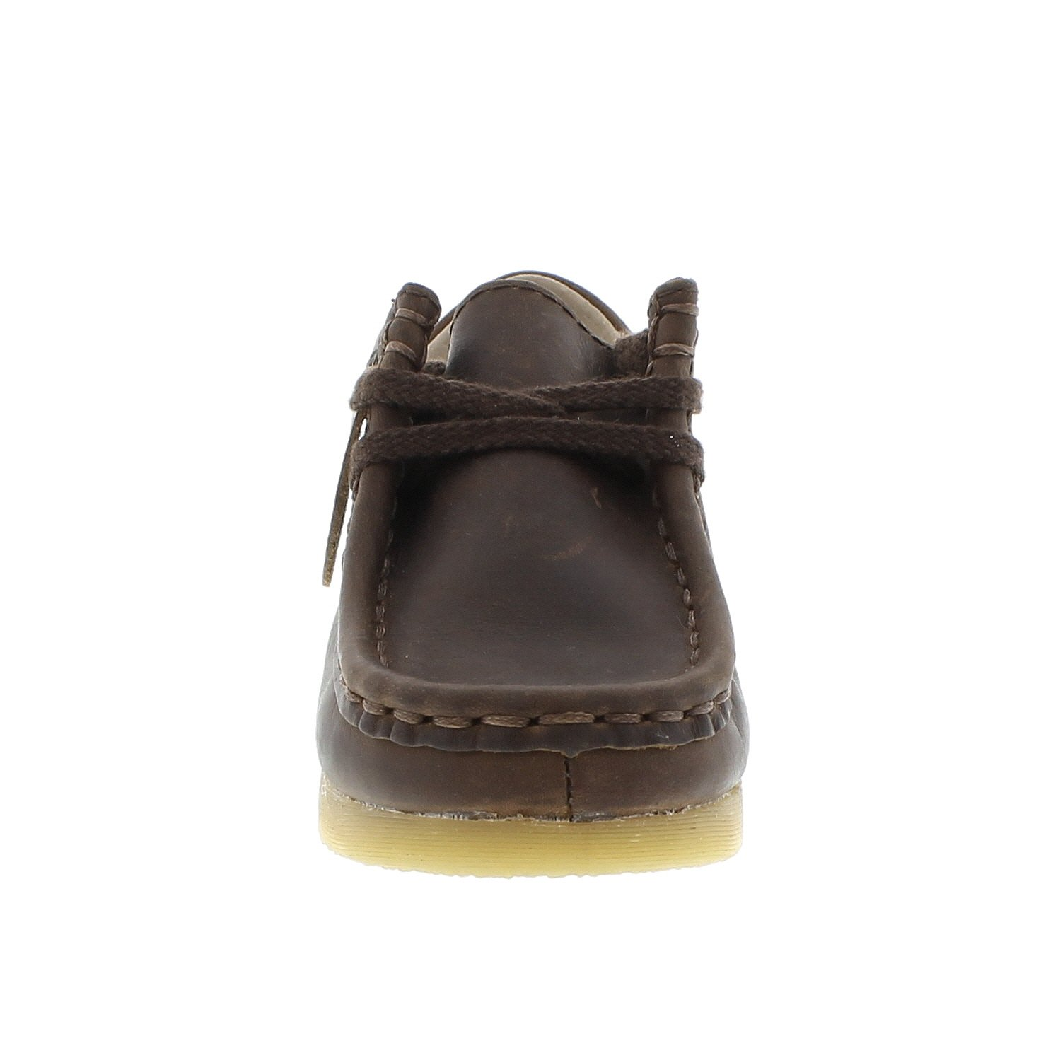 FOOTMATES Wally Low Wallabee Oxford Brown Oiled - 9125/12.5 Little Kid M/W by FOOTMATES (Image #4)