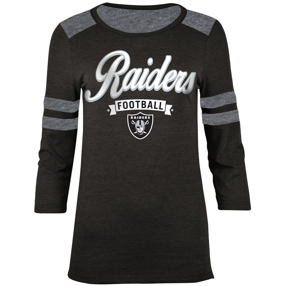 Amazon.com   Oakland Raiders Womens Football Banner Long Sleeve T-shirt  Small   Sports   Outdoors 56640d1f8