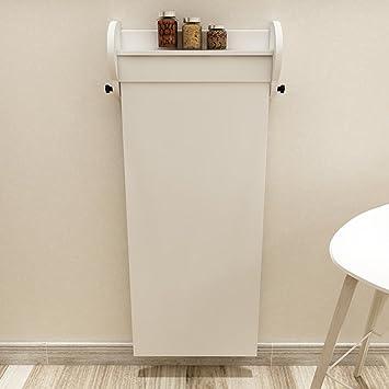 Tisch An Wand Klappbar.Amazon De Klappbar Tisch Haushalts Trennwand Schrank