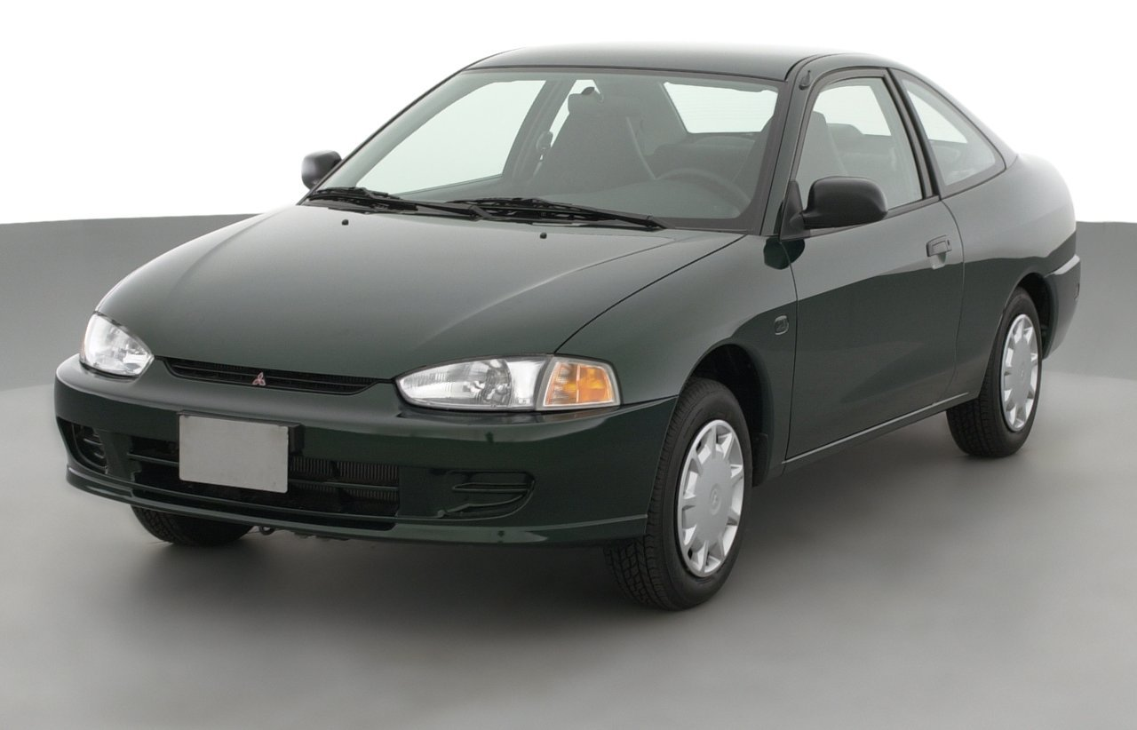 2001 Mitsubishi Mirage DE, 2-Door Coupe 1.5L Automatic Transmission ...