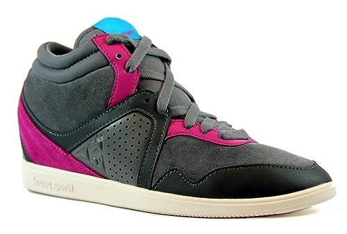 Scarpa Donna C3498 Sportif Sneaker Grigiofucsia Alta Le Monge Coq k0nwPO