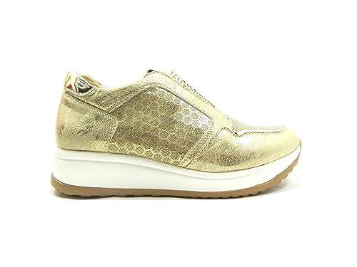 Donna OroAmazon 0041 Gmv Scarpe Sneakers Strass Slip On it OkPXZiuT