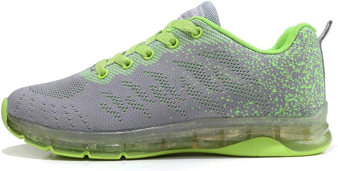 Zapatos para Correr Mujer Zapatillas de Deportivo Tejer Sneakers ...