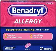 Benadryl Allergy Ultratab Safe During Pregnancy